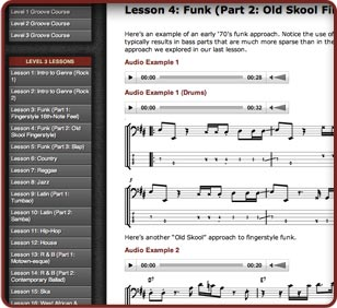 60-Lesson Groove Course 3 Image